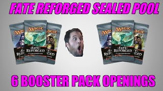 Opening 6 Fate Reforged Packs & Building A Sealed Deck