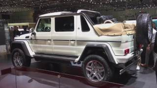 2018 Mercedes-Maybach G650 Landaulet walkaround at Geneva Motor Show 2017