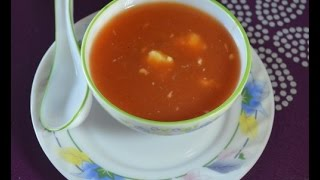 Homemade Baby Food -Tomato and Carrot Soup for 7 -8 months onwards