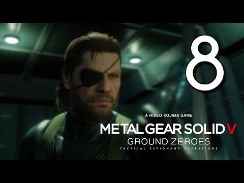 Let's Play Metal Gear Solid V: Ground Zeroes  Part 08: Intel Operative Rescue - Side Mission  