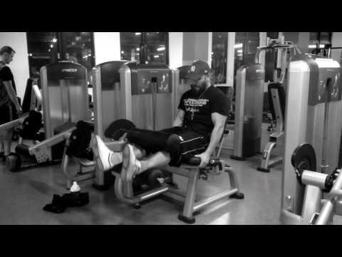 Daniel Stisen, Seated Leg-Curl, Leg-Day, 4 Days Routine, Dec 2016