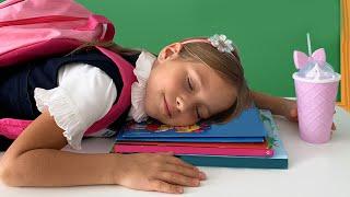 صوفيا وروتينها الصباحي المدرسي