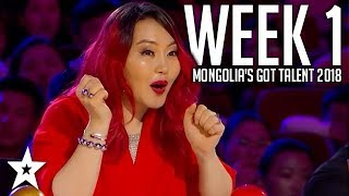 Mongolia's Got Talent 2018 | WEEK 1 | Auditions | Got Talent Global