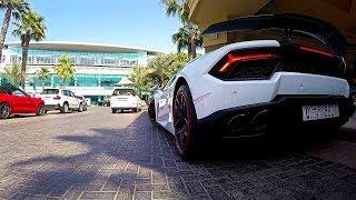 Carspotting in Dubai  Abu Dhabi  Bahrain UAE Rolls-Royce Lamborghini Ferrari