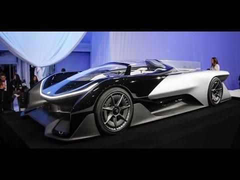 Faraday Future FFZERO1 Concept : A Wild, 1000-hp Electric Spaceship that Previews Production EVs