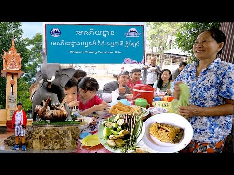 Tbeng Meanchey Mountain Trip with Khmer Tourists Family | Travel from Phnom Penh to Preah Vihear