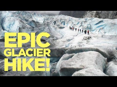 We Climbed a GLACIER!