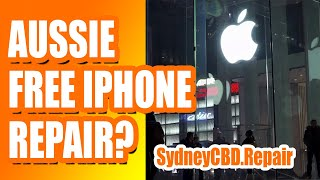 Does Apple #fix #iPhones for free in #Australia?