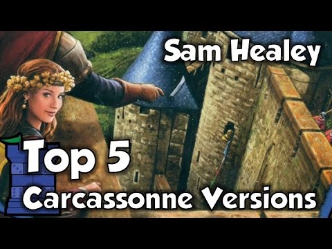 Top 5 Versions of Carcassonne - with Sam Healey