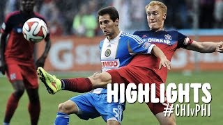 HIGHLIGHTS: Chicago Fire vs. Philadelphia Union | July 19, 2014