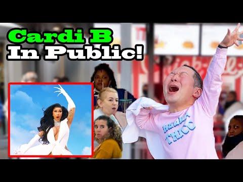 CARDI B - Up, WAP, I like it, Bodak Yellow - DANCE IN PUBLIC!!