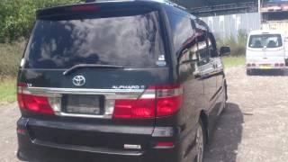 Видео-тест автомобиля Toyota Alphard (MNH10-0014295 2002г)