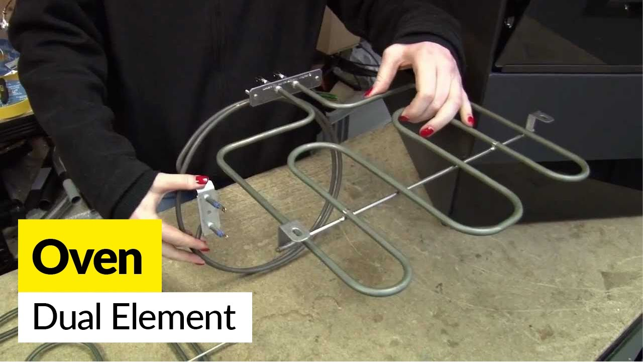 How to replace a dual cooker element in an electric cooker  YouTube