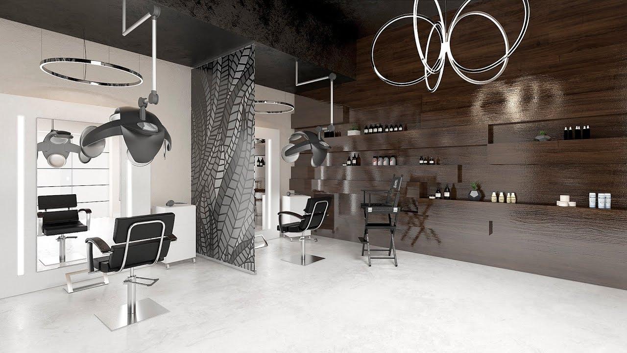 Дизайн интерьера салон красоты