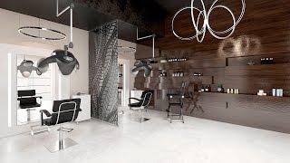 Дизайн интерьера салона красоты.