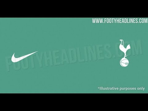 Exclusive Nike Tottenham 20 21 Away Kit To Be Green Youtube