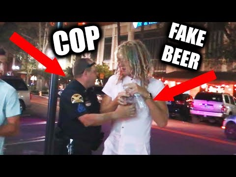 Fake Alcohol Prank ON COPS!! Ft. Male Rompers | JOOGSQUAD PPJT