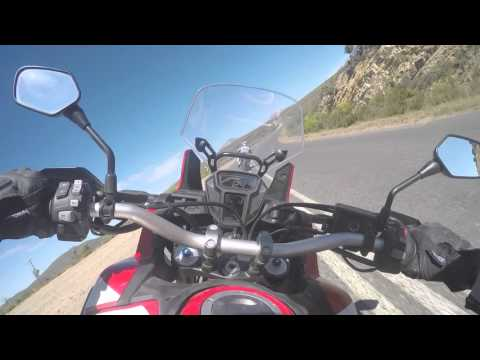Honda CRF1000L Africa Twin - Onboard - Topspeed