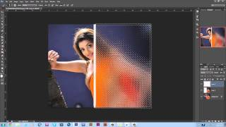 Photoshop Hindi tutorials, episode 78, Glass Pane effect