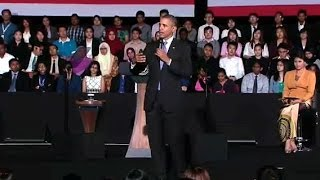President Obama Speaks at the Young Southeast Asian Leaders Initiative Town Hall