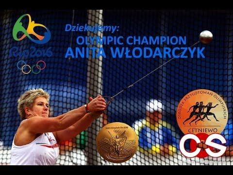 Dla Anity Włodarczyk OLYMPIC CHAMPION XXXI OG RIO 2016 Twoi Fani