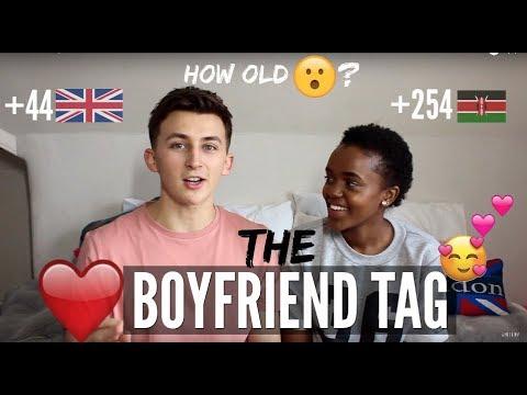 THE BOYFRIEND GIRLFRIEND TAG !!