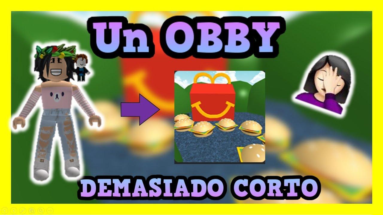 Un OBBY DEMASIADO Corto || ROBLOX || Valen Latina