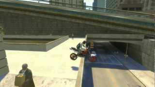 GTA 4 - AMAZING Bike Stunts 9