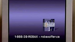 Robax DRTV spot