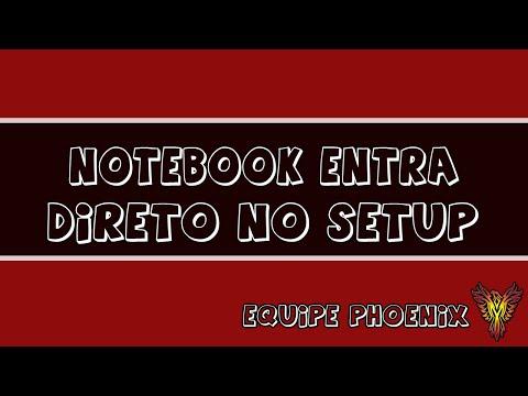 Notebook Entra Direto no SETUP - Equipe Phoenix