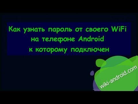 Как узнать пароль от своего WiFi на телефоне Android