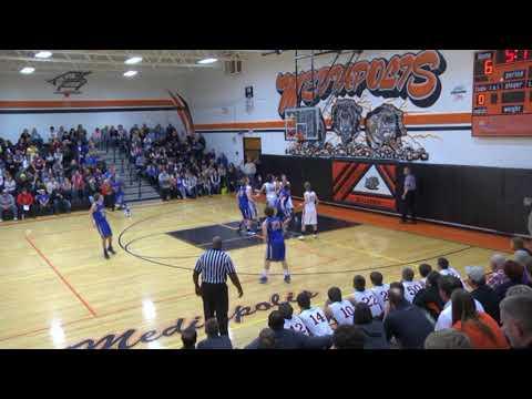 Archive 12/22/14 Mediapolis vs Wapello Boys Basketball