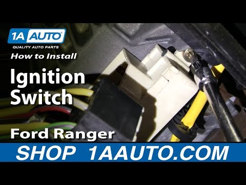 How to Replace Ignition Switch 95-04 Ford Ranger