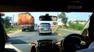 インドのグントゥールで車内から撮った動画です。
