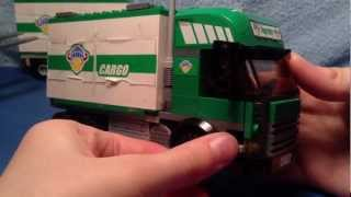 LEGO City 7733 Truck And Forklift 2008 Review