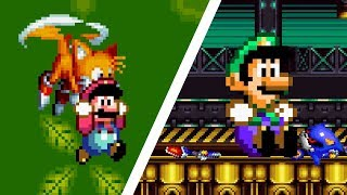 If Luigi and Tails switched places