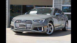 Audi S4 2019 TEST Drive