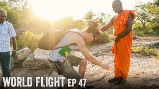 MEETING SRI LANKAN MONK - World Flight Episode 47
