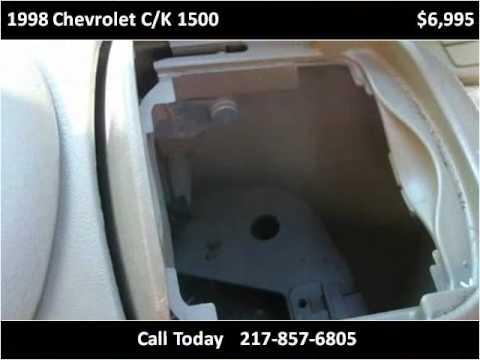 1998 Chevrolet C/K 1500 Used Cars Teutopolis IL