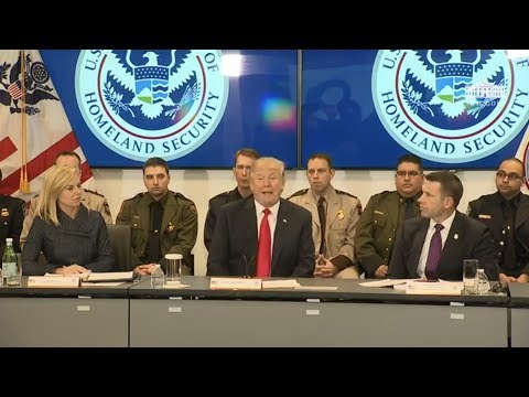President Trump Participates in a Customs and Border Protect