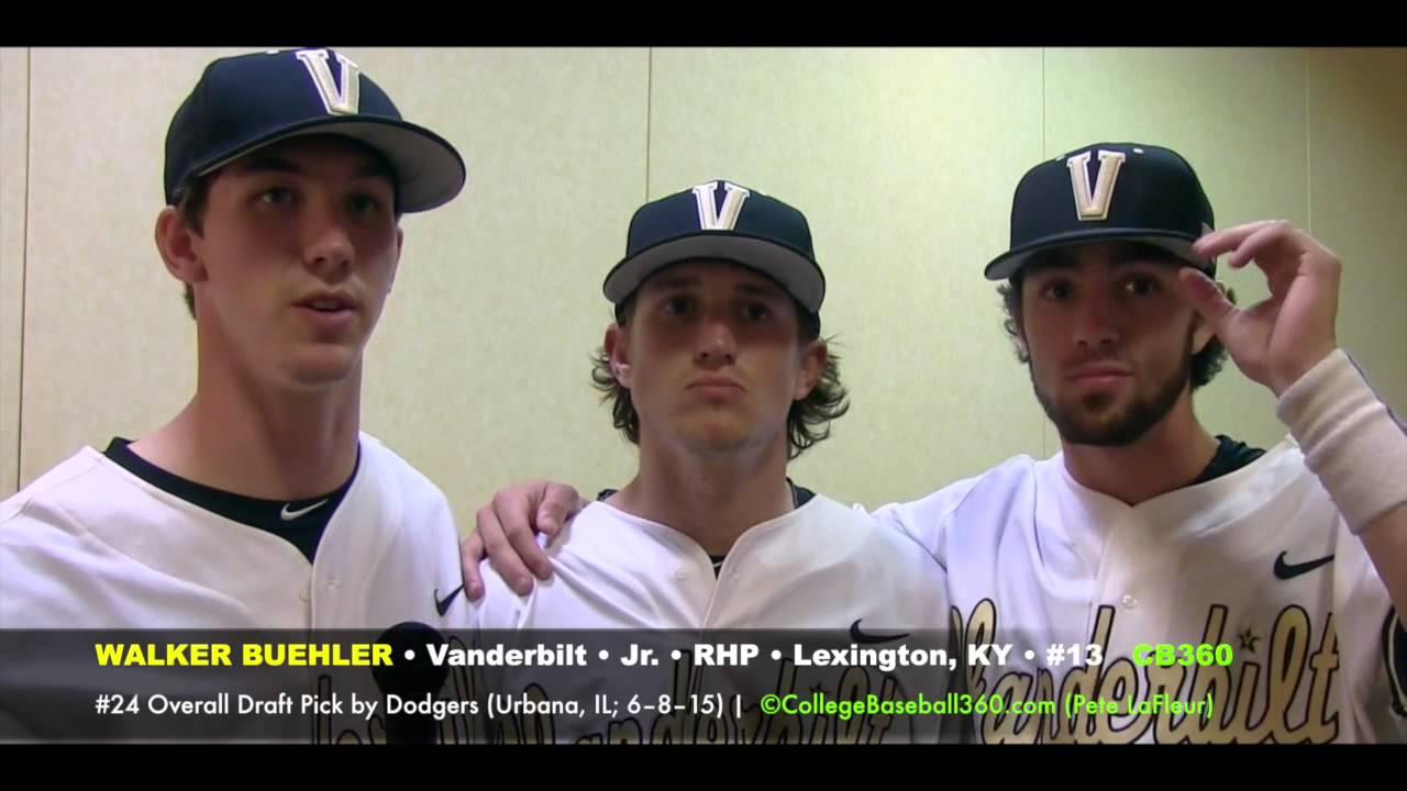 Vanderbilt 2015 First Round MLB Draft Picks Cb360