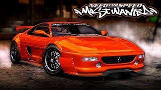 Need for Speed MOST WANTED | Ferrari 355 F1 Mod Gameplay [1440p60]