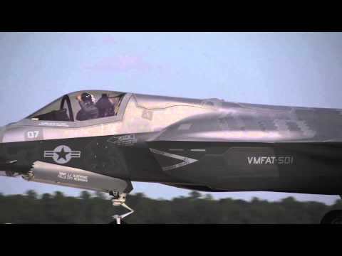F-35B marks 1 year at MCAS Beaufort