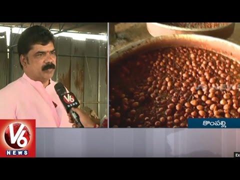 TRS Plenary | Leaders To Taste 26 Varieties Of Telangana Food | Hyderabad | V6 News