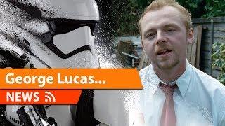 Simon Pegg Slams Disney & Star Wars TLJ He Wants George Lucas Back