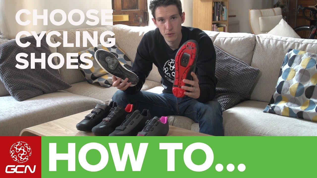 How To Choose The Right Cycling Shoes