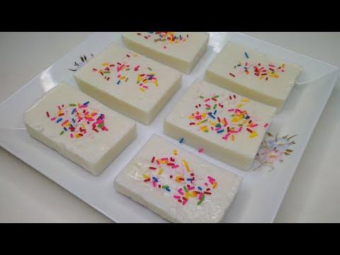 Coconut Milk Pudding Recipe | Dessert Recipe | নারিকেল দুধের পুডিং