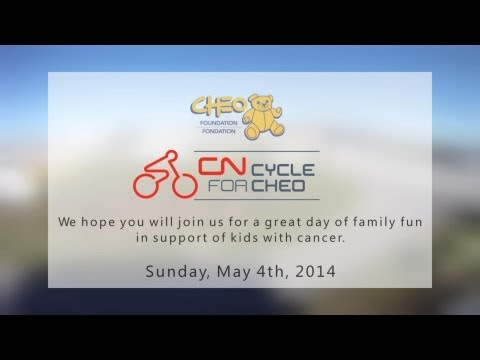 CN Cycle for CHEO -- Participate in 2014