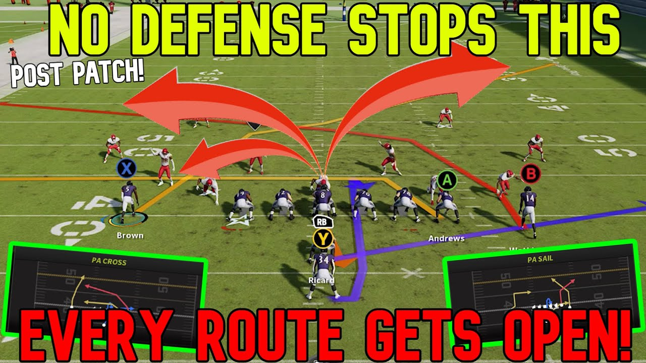 Download GLITCH FORMATION! 2 Unstoppable Plays That SCORE VS ANY DEFENSE! Madden NFL 22 Offense Tips & Tricks