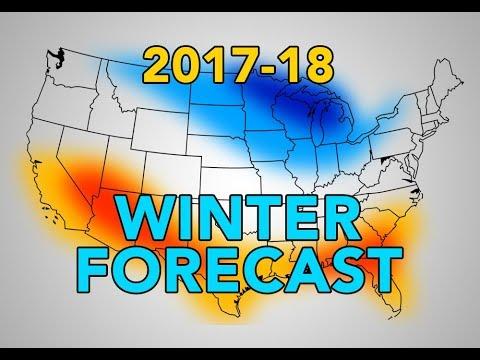 U.S. Winter Forecast Breakdown - 2017-18